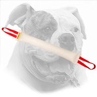 American Bulldog Bite Tug Made of Fire Hose