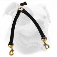 Leather American Bulldog Coupler