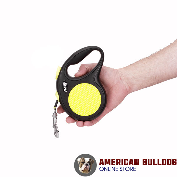 Daily Use Retractable Leash Neon Style for Total Comfort