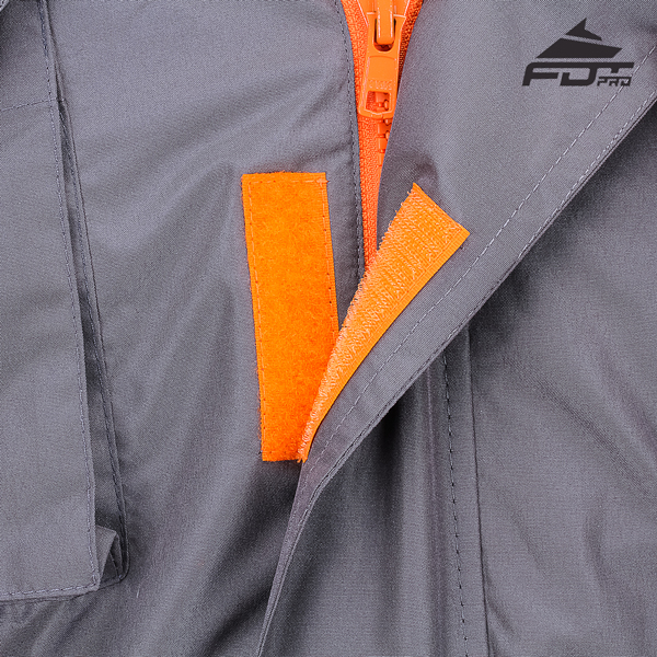 Top Rate Velcro Fastening on Dog Training Jacket for Handy Use