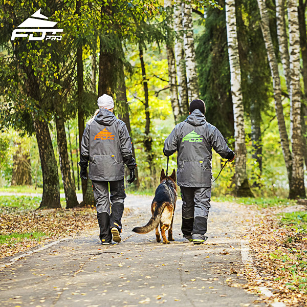 Professional Dog Trainer Jacket of Top Notch for Everyday Use