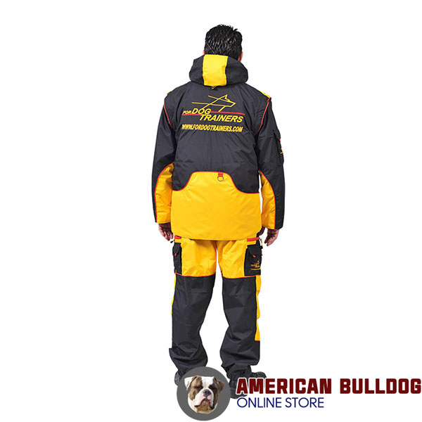 Membrane Material Training Suit with Side Pockets