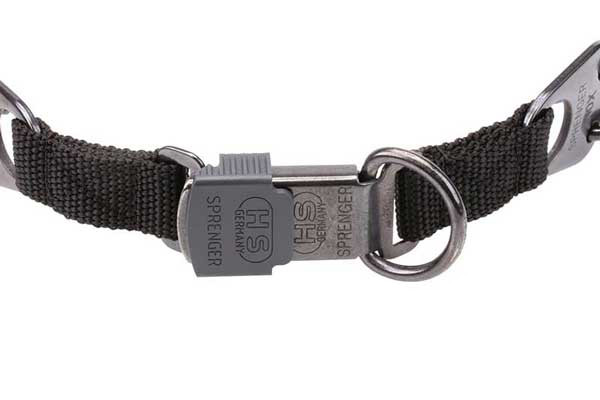 Herm Sprenger Stainless Steel Dog Collar QR Buckle