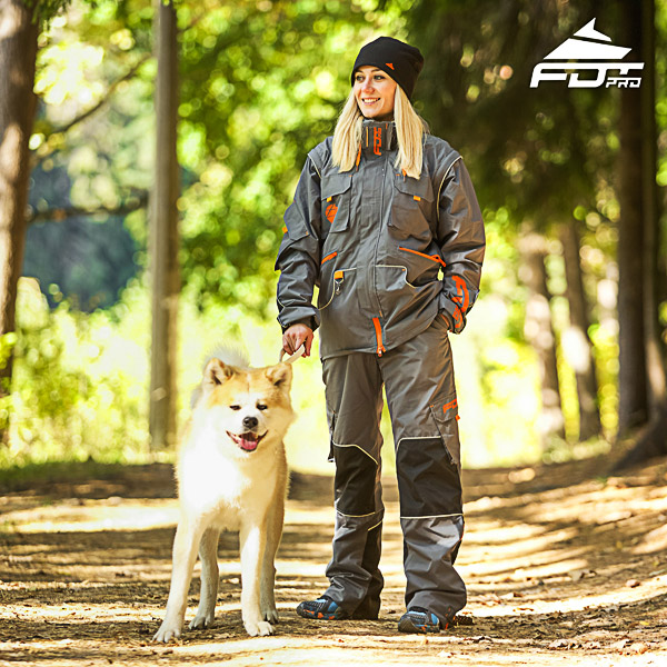 Men and Women Design Dog Training Jacket of Top Notch Materials