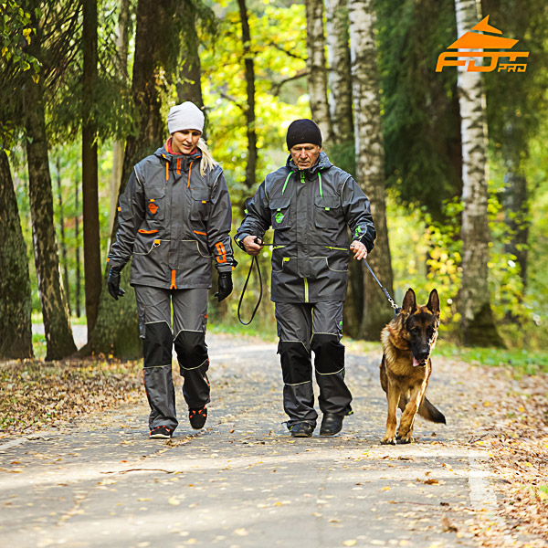 Any Weather Conditions Reliable Dog Training Suit for Men and Women