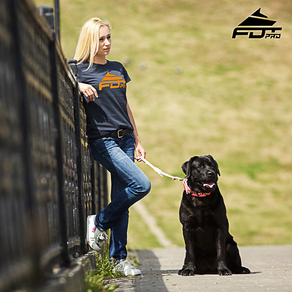 Women T-shirt of Fine Quality Cotton for Dog Training