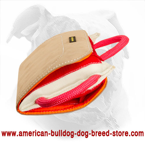 Dog Bite Pillow for American Bulldog