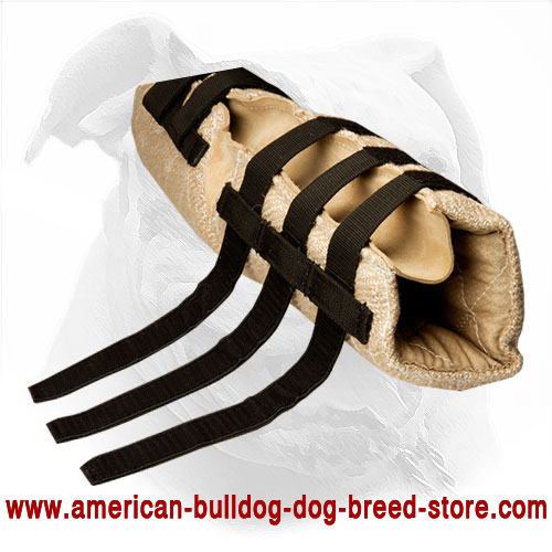 Hidden Jute American Bulldog Bite Sleeve