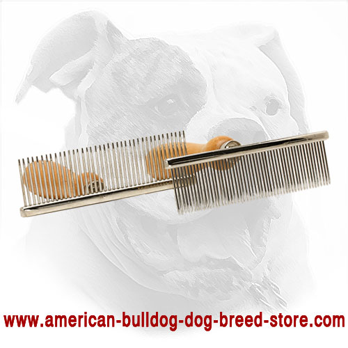 Rust-Resistant Dog Metal Brush
