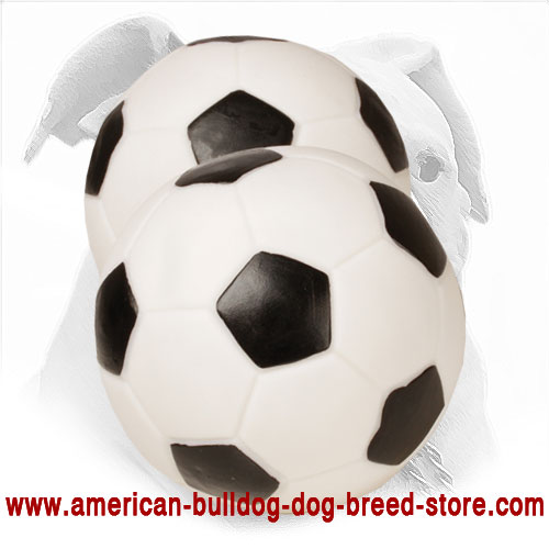 Rubber Dog Ball for American Bulldog
