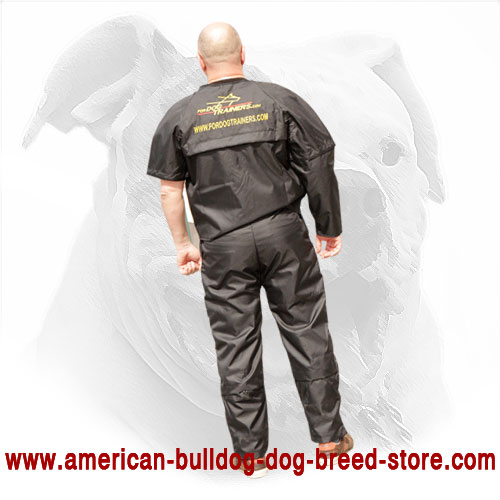 Scratch Suit for American Bulldog Training