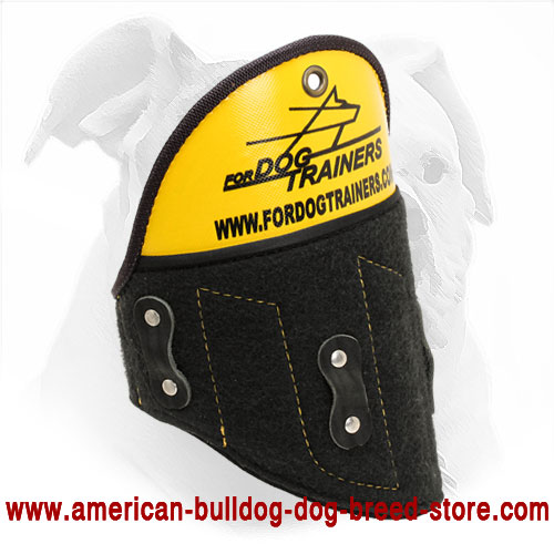 Training Dog Shoulder Protector for American Bulldog