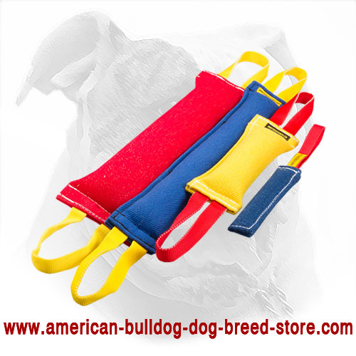 Durable American Bulldog Bite Tugs