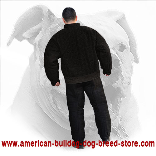 Secure American Bulldog Bite Suit