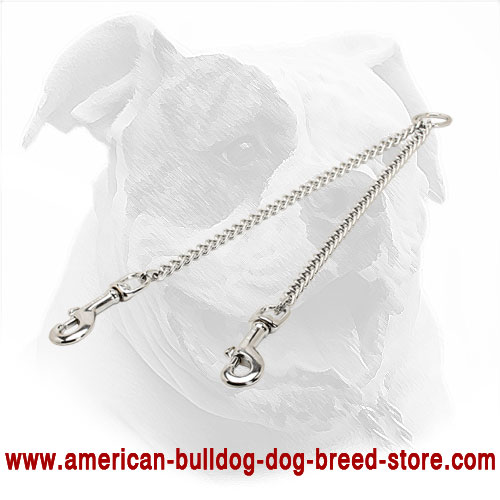 American Bulldog Coupler with Chrome Plating