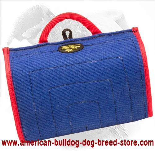 French Linen Bite Builder for American Bulldog - Click Image to Close