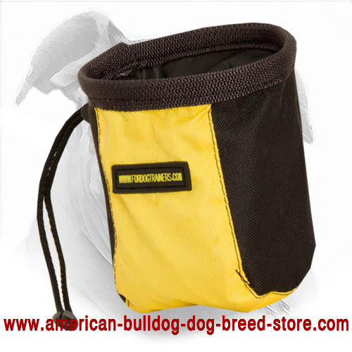 American Bulldog Treat Bag Made of High Quality Material