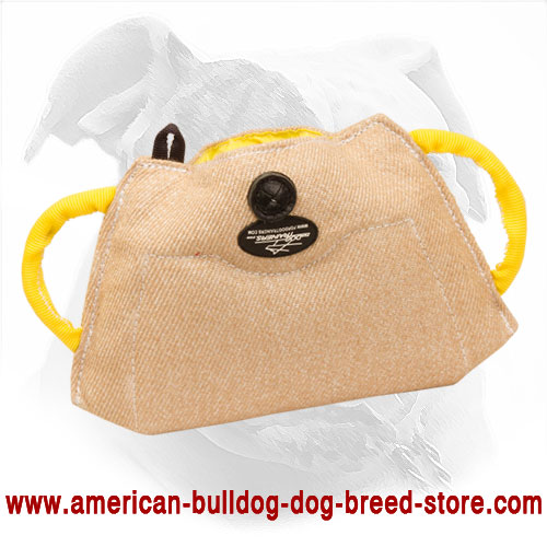 American Bulldog Bite Builder Made of Jute