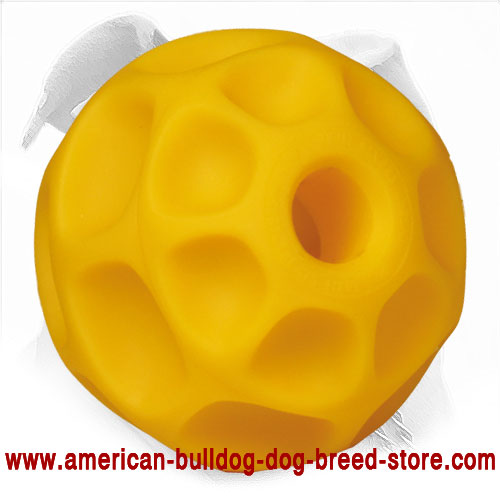 5 Inch Tetraflex Dog Ball for American Bulldog