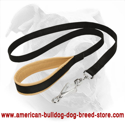 Strong Nylon American Bulldog Leash