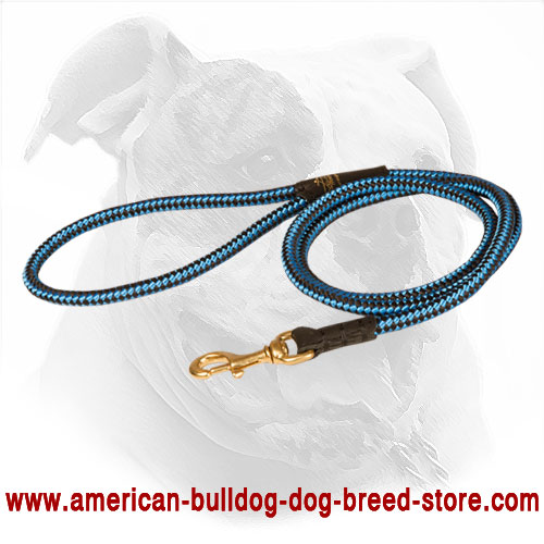Cord Nylon American Bulldog Leash