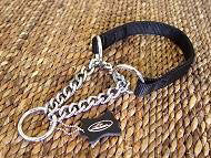 All weather 2 ply Nylon martingale dog collar