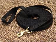 Nylon dog leash for training and tracking.
